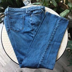 Eddie Bauer High Waist Long Natural Fit Jeans